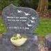 Grafstenen natuursteen graniet kindermonumenten kindergrafmonumenten kindergraven kindergrafsteen kindergraf kindermonument gekleurd van glas rvs natuursteen online bestellen bij gedenkstenen-grafmonumenten.nl